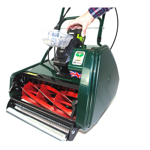 Allett Domestic Allett Liberty 43 Battery Cylinder Mower